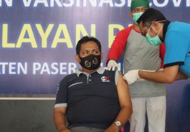 Sebanyak 160 ASN Paser Jalani Vaksinasi Covid-19