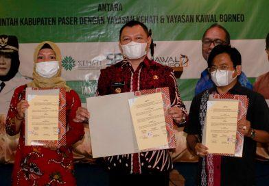 Bupati Paser Tandatangani MoU Program Pembangunan Kelapa Sawit Berkelanjutan
