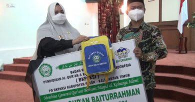 Wabup Paser Resmikan Lima Sekolah Quran Paud