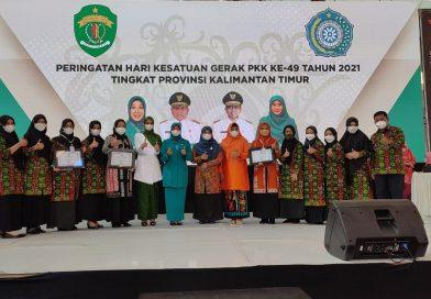 PKK Paser Raih Tiga Penghargaan Lomba HKG Kaltim