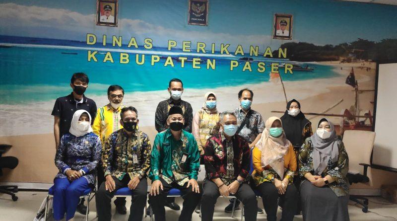 Dinas Perikanan Kabupaten Paser Terima Kunjungan PemKab Tabalong